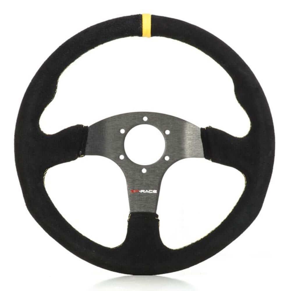 GP Race TC2000 Suede Steering Wheel