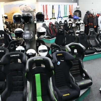 GSM-Performance-2017-instore-Motorsport-equipment-display-info