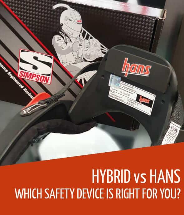 Simpson Hybrid VS HANS device
