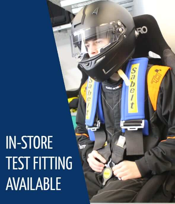 In-store Motorsport fitting service