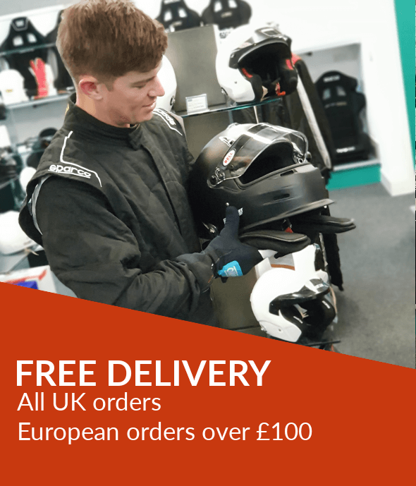 Free delivery in the UK and Europe
