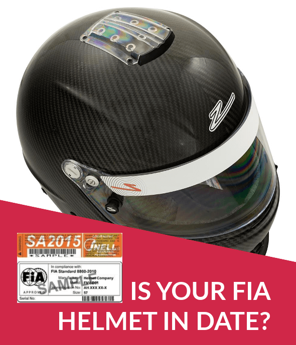 Is your FIA helmet in date?