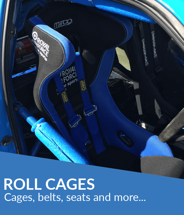 Roll cages and fitting equipment