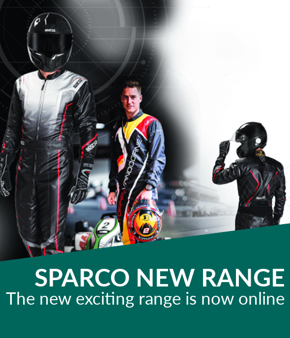 Sparco 2019 Motorsport race-wear range now live