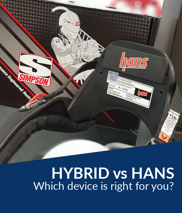 Simpson Hybrid VS HANS device